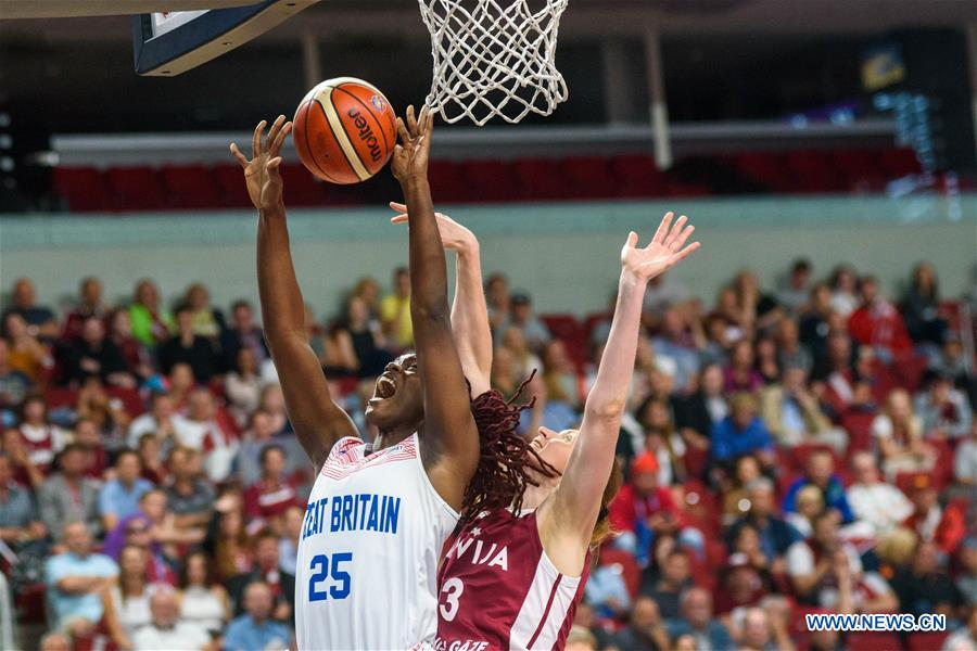 (SP)LATVIA-RIGA-EUROBASKET-BRITAIN VS拉脫維亞