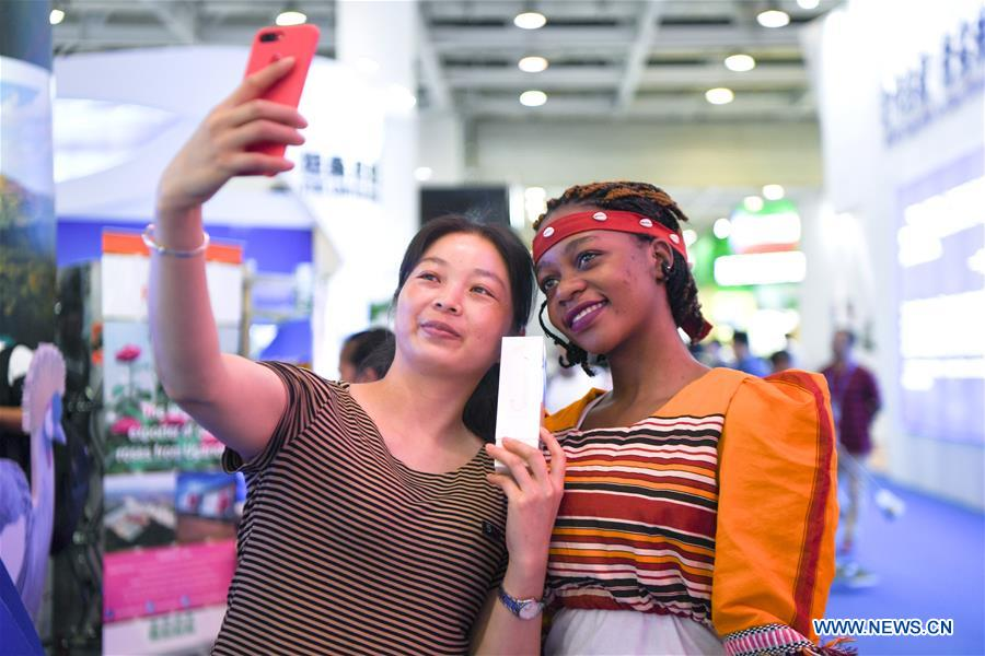 CHINA-CHANGSHA-CHINA-AFRICA TRADE EXPO-EXHIBITION HALL (CN)