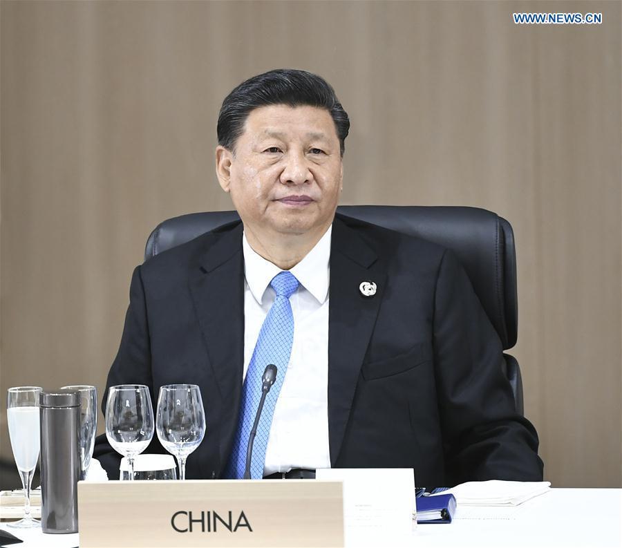 JAPAN-OSAKA-XI JINPING-G20 SUMMIT