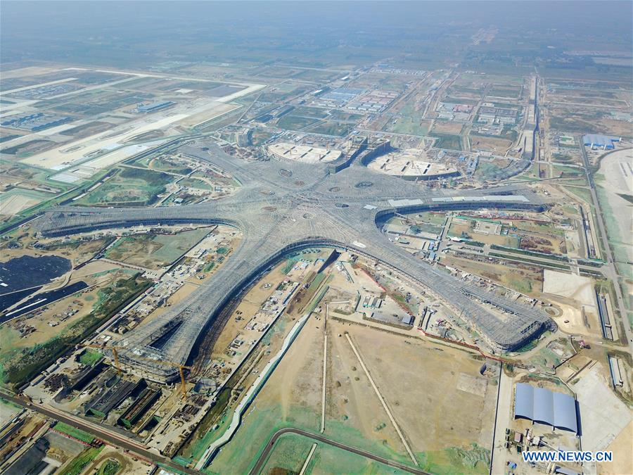 CHINA-BEIJING-NEW AIRPORT-CONSTRUCTION (CN)