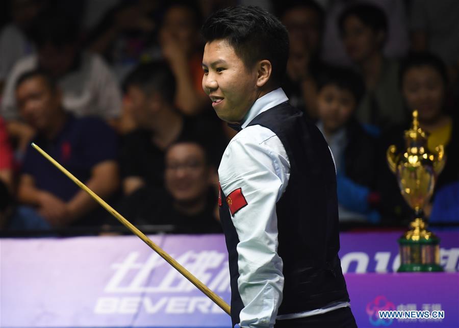(SP)CHINA-JIANGSU-WUXI-SNOOKER WORLD CUP(CN)