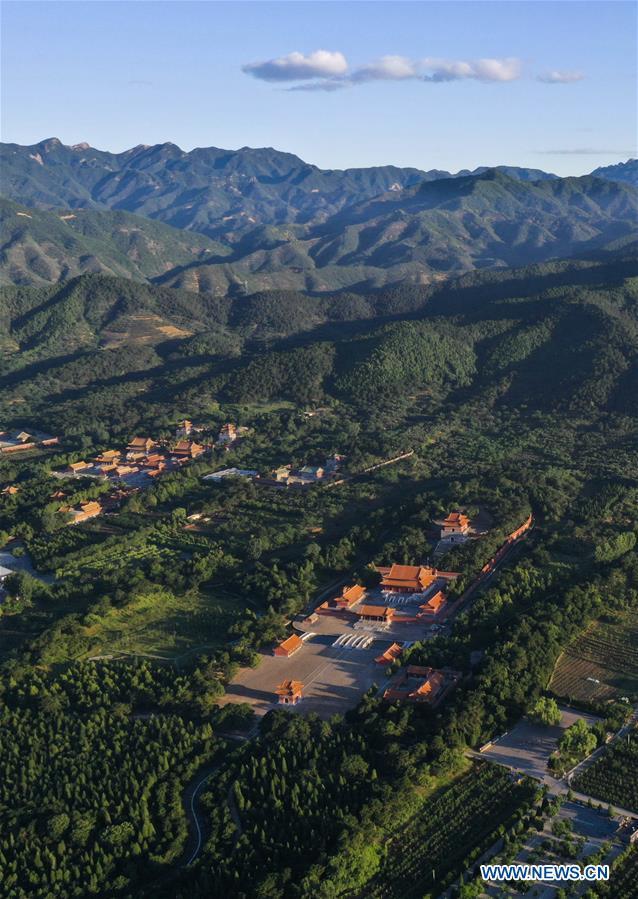 #CHINA-Hebei-ZUNHUA-ROYAL TOMBS-VIEW(CN)