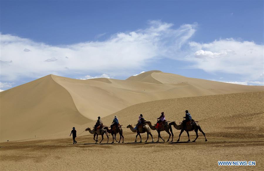 #CHINA-GANSU-DUNHUANG-TOURISM (CN)