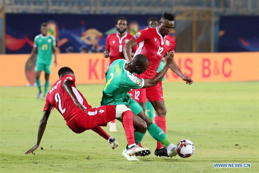 <b>Africa Cup of Nations group C</b> match: Senegal vs. Kenya - Xinhua ...