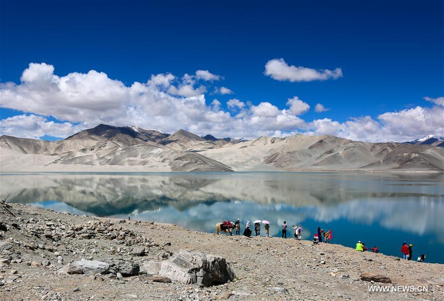CHINA-XINJIANG-BAISHA LAKE-SCENERY (CN)
