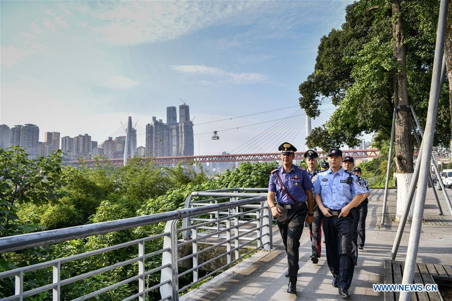 CHINA-CHONGQING-ITALY-JOINT POLICE PATROL (CN)