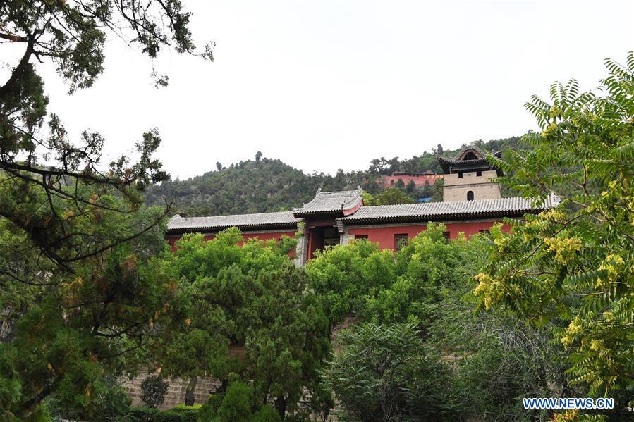 CHINA-SHANXI-JIAOCHENG-GUASHAN MOUNTAIN-SCENERY (CN)