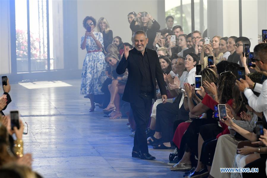 FRANCE-PARIS-FASHION WEEK-ELIE SAAB