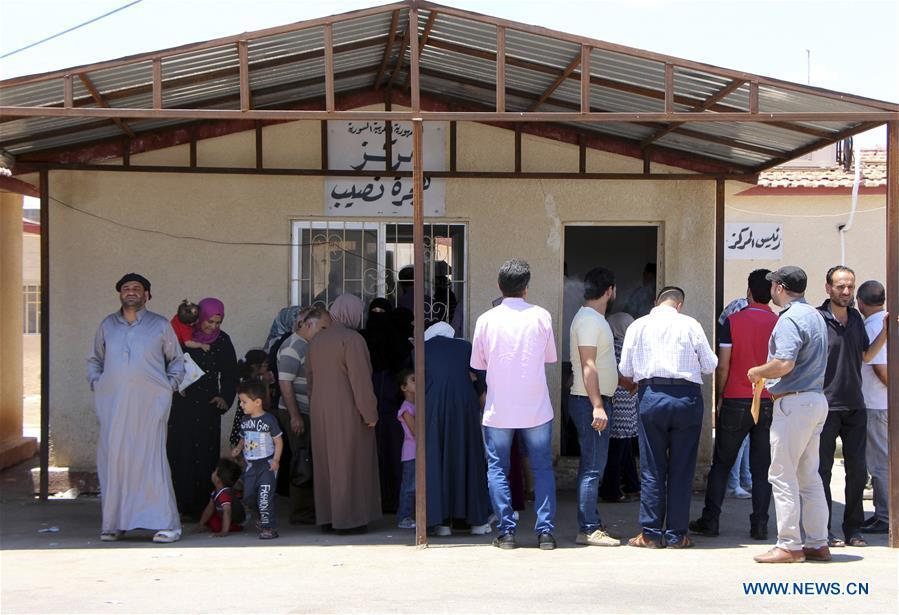 叙利亚 - 德拉难民返回