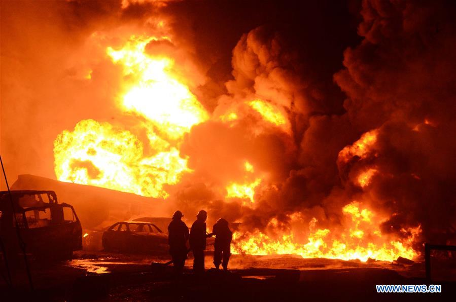 Oil pipeline explosion hits Nigeria's economic hub, casualties feared - Xinhua | English.news.cn - Xinhua