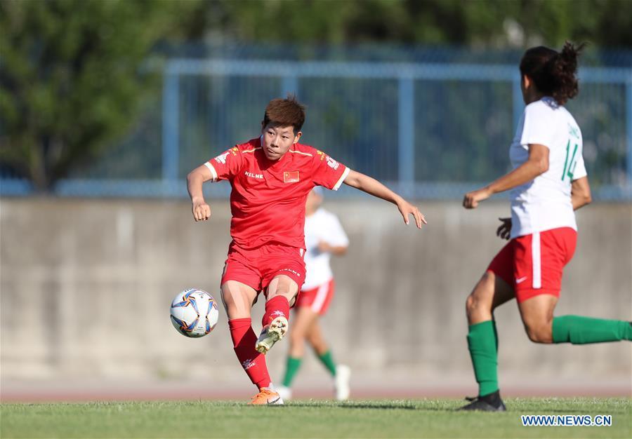 (SP)ITALY-NAPLES-SUMMER UNIVERSIADE-WOMEN'S FOOTBALL-CHN VS MEX