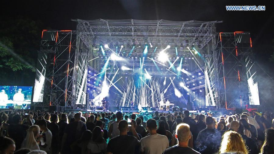 SERBIA-NOVI SAD-MUSIC FESTIVAL