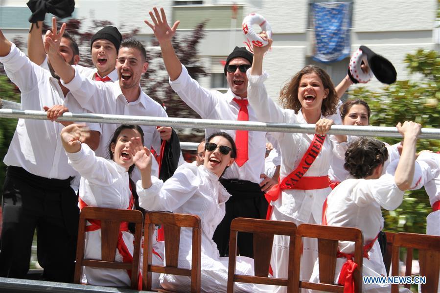葡萄牙 -  TOMAR-TABULEIROS-FESTIVAL