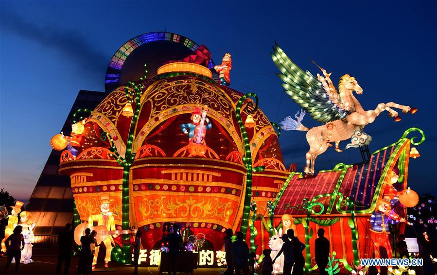 CHINA-CHANGCHUN-LANTERN SHOW(CN)