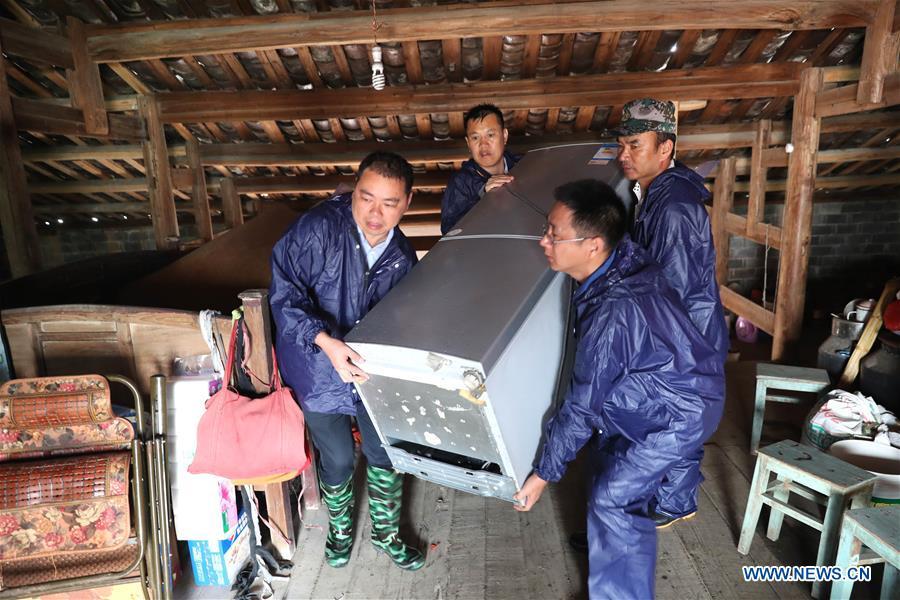 #CHINA-JIANGXI-FUZHOU-FLOOD-RESCUE WORK (CN)