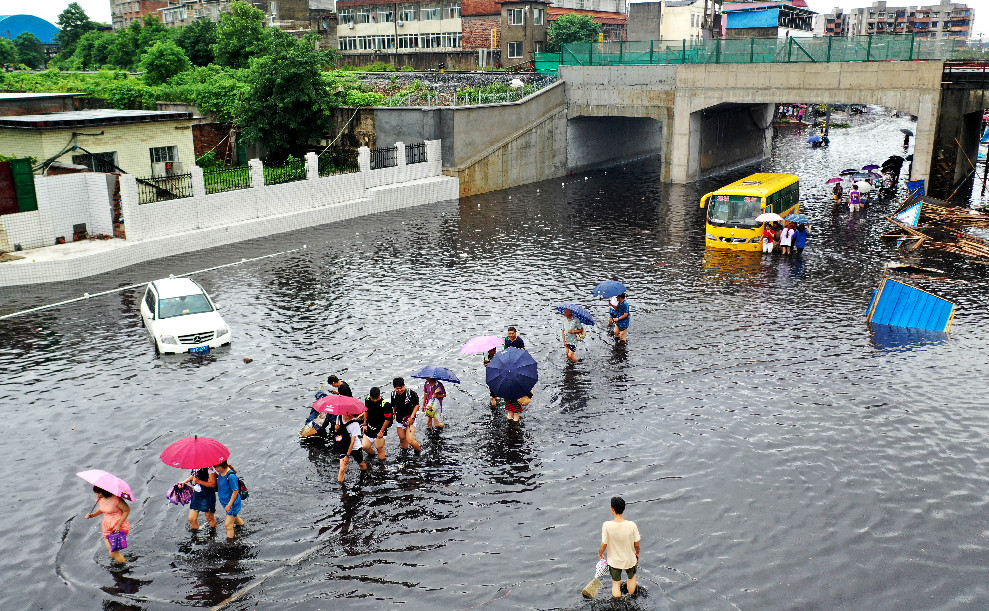 Over 280,000 affected by rainstorms in Guangxi - Xinhua | English.news.cn