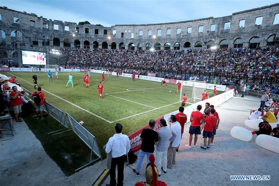(SP)CROATIA-PULA-ARENA-BAYERN MUNICH LEGENDS