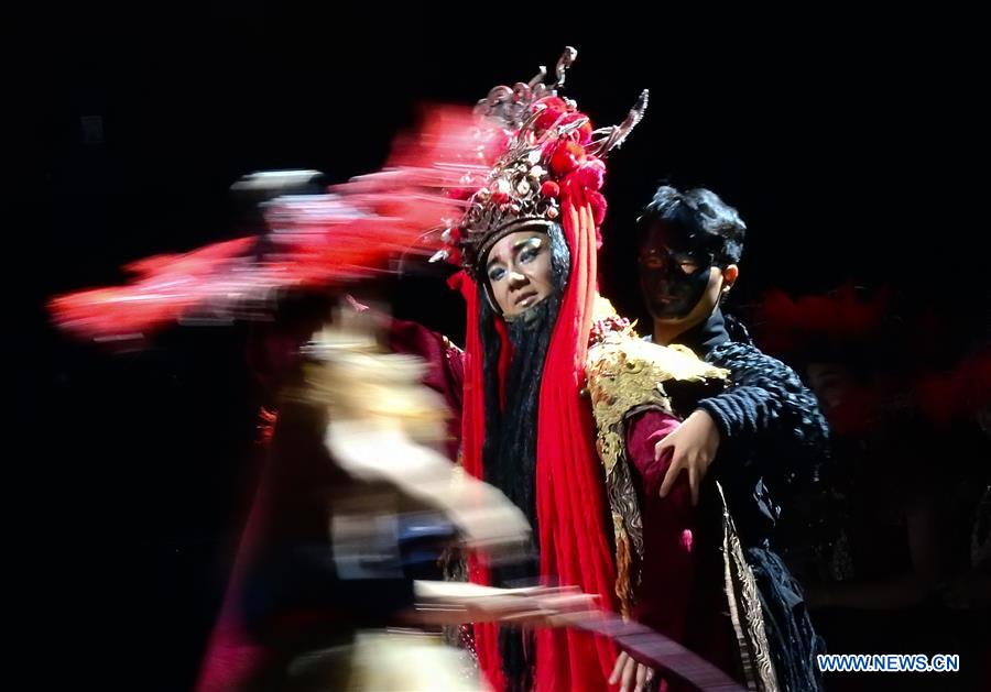 #CHINA-GUIYANG-PINGTAN IMPRESSION-STAGE PLAY (CN)