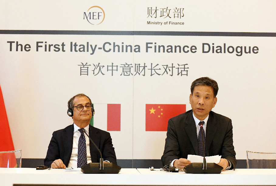 China, Italy agree to enhance financial market cooperation, opening-up - Xinhua   English.news.cn