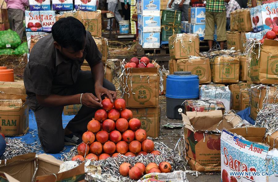 印度 - 新德里 - 水果 - 出售