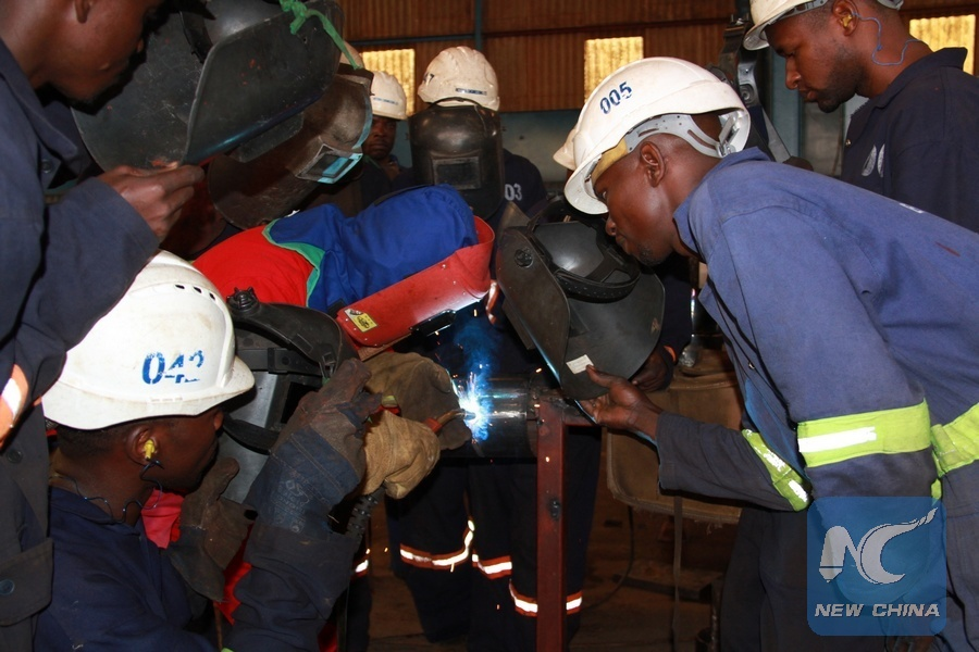 Chinese vocational institute opens branch in Uganda in efforts to boost economic dev't