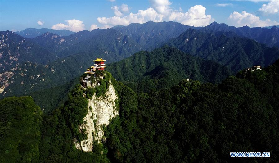 CHINA-XI'AN-SOUTH WUTAI MOUNTAIN-SCENERY(CN)