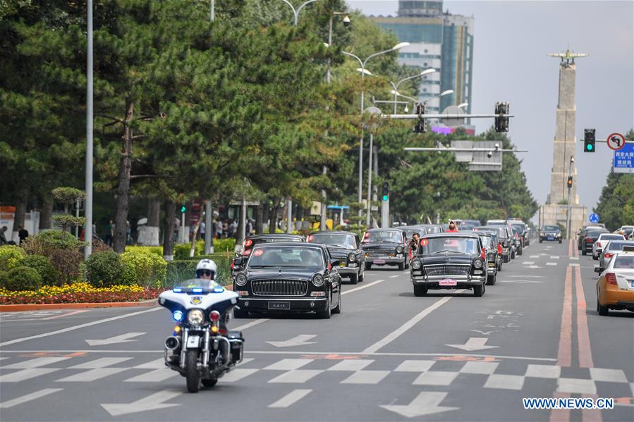 CHINA-JILIN-CHANGCHUN-CLASSIC CAR-PARADE (CN)