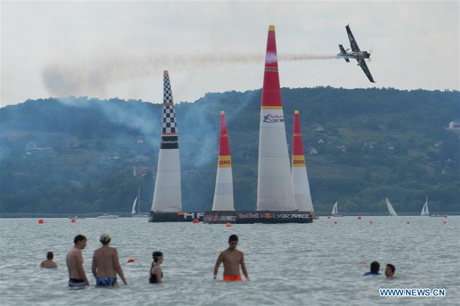Red Bull Air Race World Championship held in Hungary