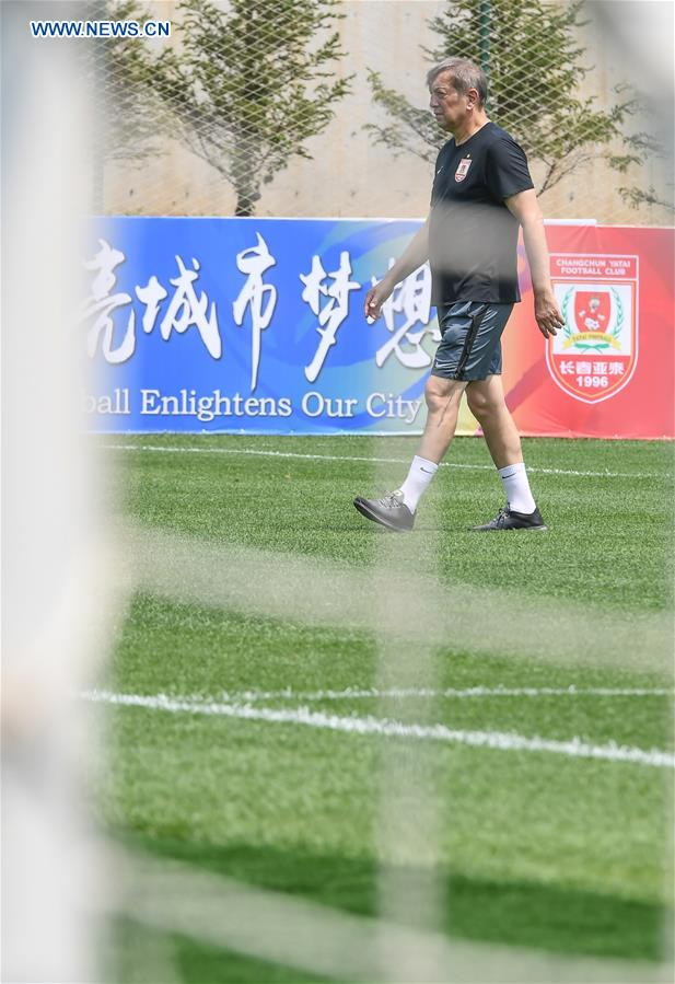 (SP)CHINA-JILIN-CHANGCHUN-YATAI FOOTBALL CLUB-COACH(CN)