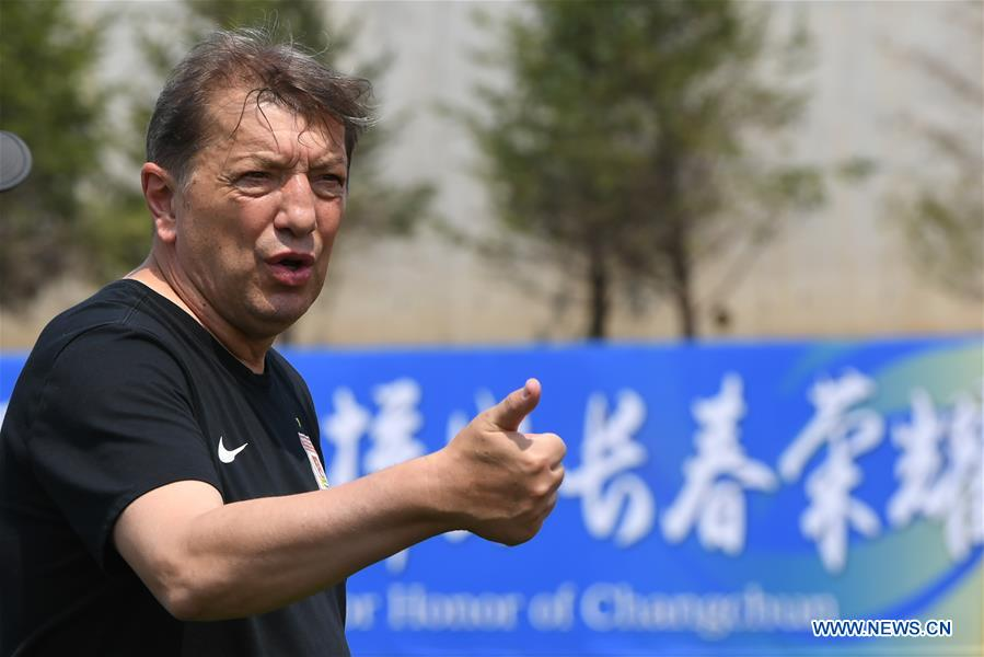(SP)CHINA-JILIN-CHANGCHUN-YATAI FOOTBALL CLUB-COACH(CN)