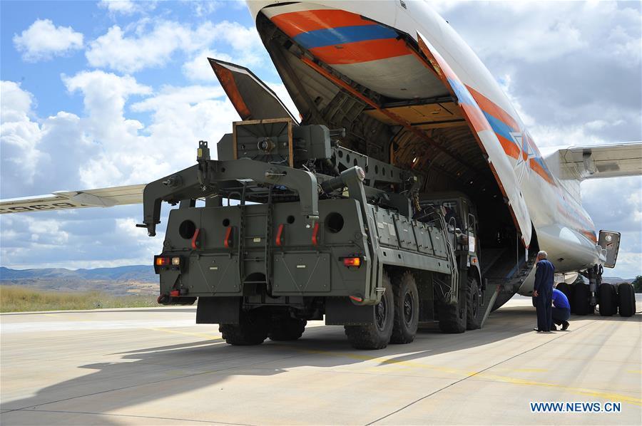 TURKEY-ANKARA-RUSSIA-AIR DEFENSE-DELIVERY