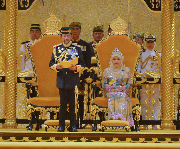 4,000 join Brunei Sultan's state banquet to celebrate 73rd birthday - Xinhua | English.news.cn