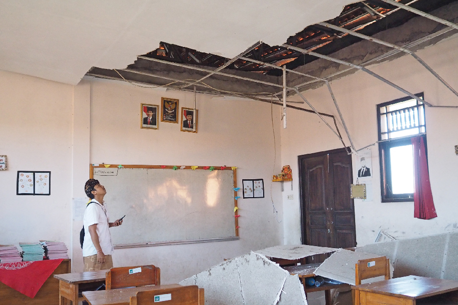 7 injured as 6.0-magnitude quake hits Indonesia's Bali - Xinhua | English.news.cn