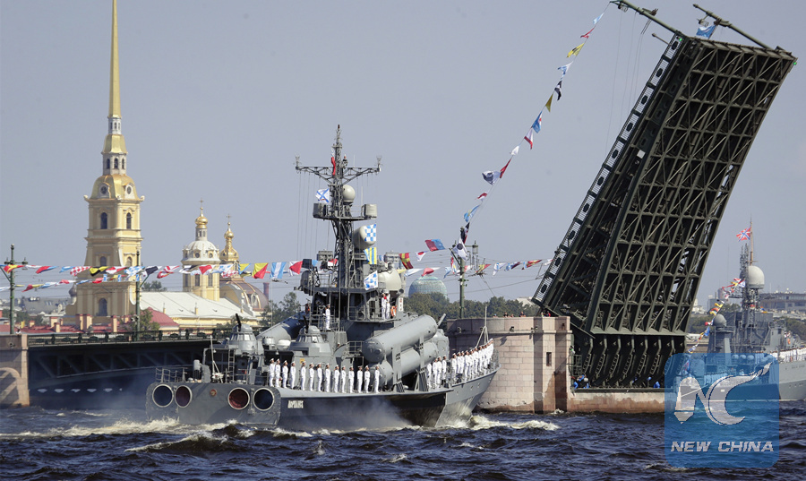 Russia to hold Navy Day parades