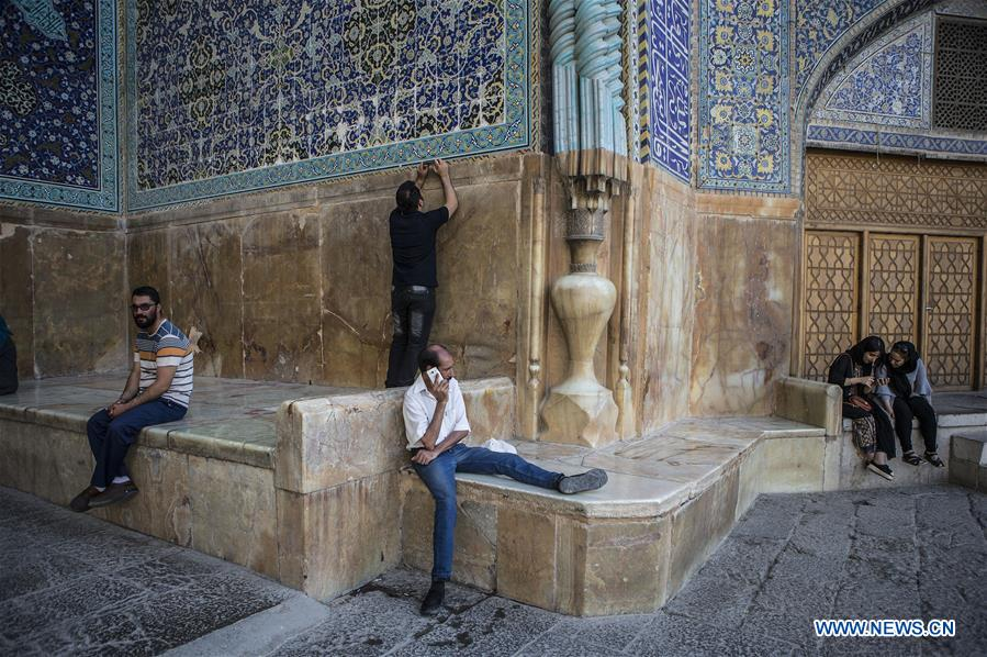 IRAN-ISFAHAN-NAGHSHE JAHAN SQUARE