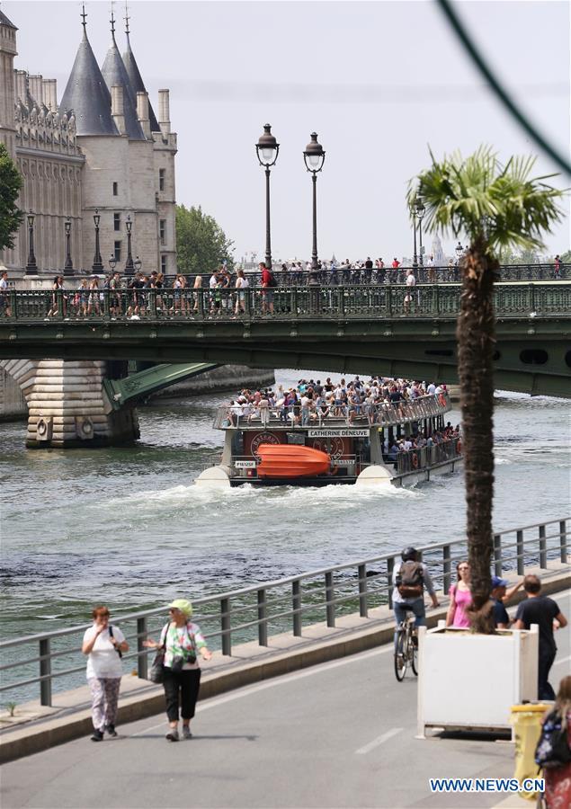 FRANCE-PARIS-PLAGE