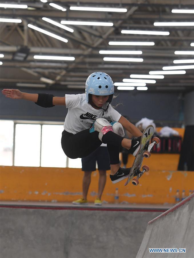 (SP)中国 - 南京 - 国际滑板开放式半决赛