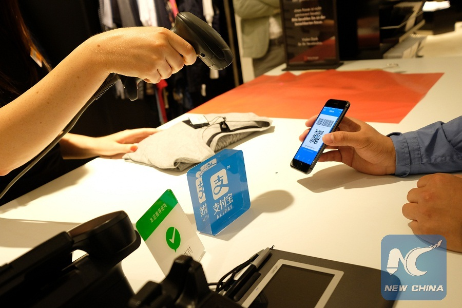 Spotlight: German city eyes to better serve Chinese tourists through introduction of mobile payment methods