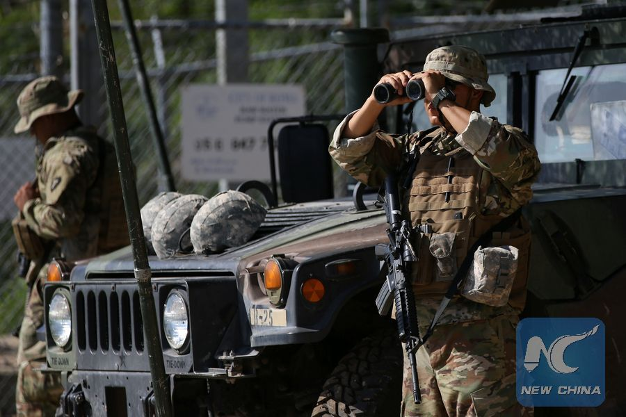 Pentagon to send 2,100 more troops to U S -Mexico border