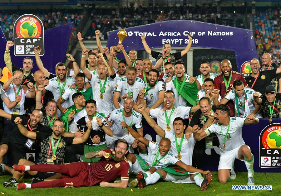 Image result for algeria crowned champions