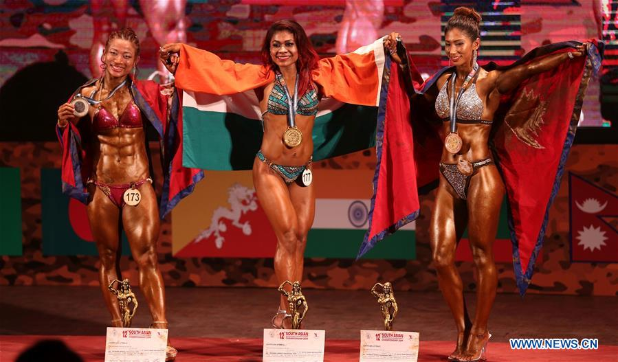In pics: South Asian Bodybuilding Championship 2019 - Xinhua