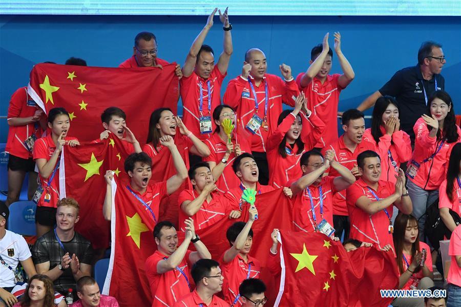 (SP)韩国 -  GWANGJU-FINA世界锦标赛 - 潜水男子10米平台