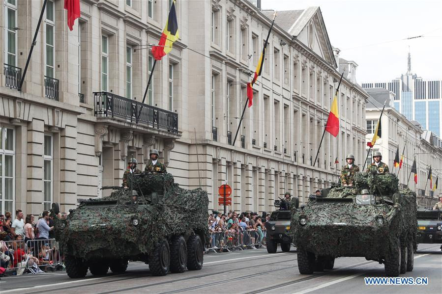 BELGIUM-BRUSSELS-NATIONAL DAY-CELEBRATION