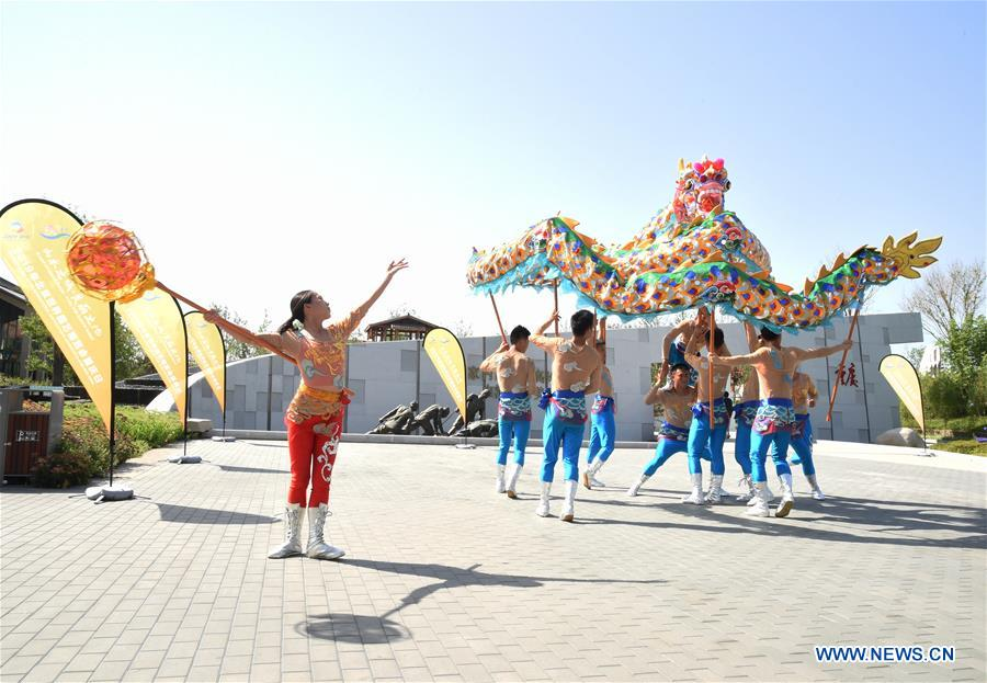 Image result for Beijing horticultural expo Chongqing Day