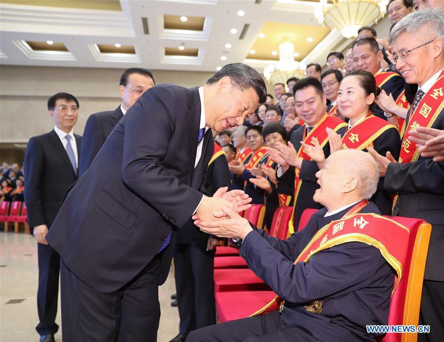 CHINA-BEIJING-XI JINPING-VETERANS-REPRESENTATIVES-MEETING(CN)