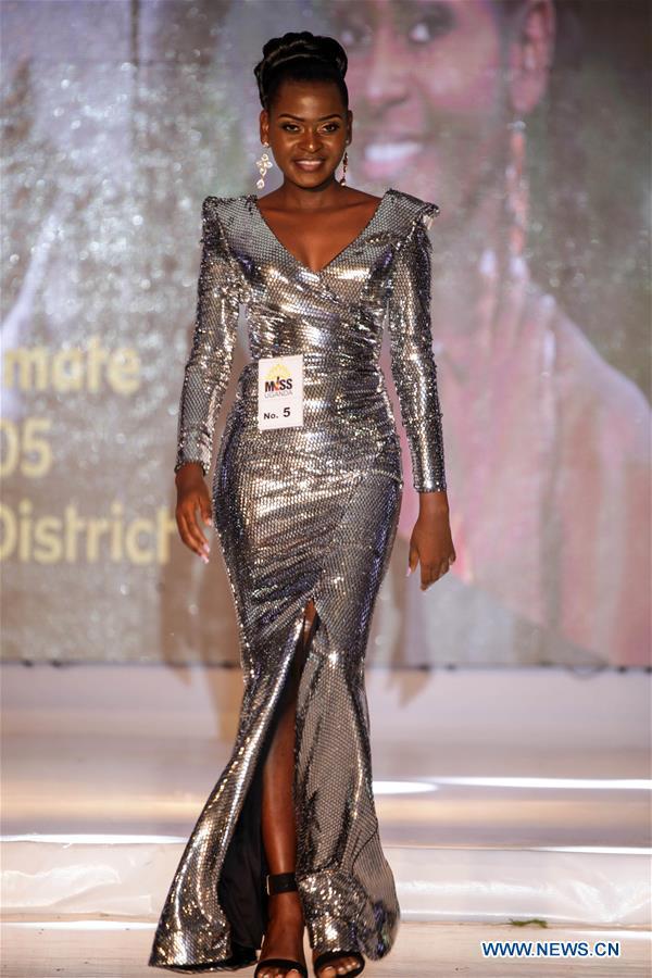 Miss Uganda Final Contest Held In Kampala Xinhua English News Cn
