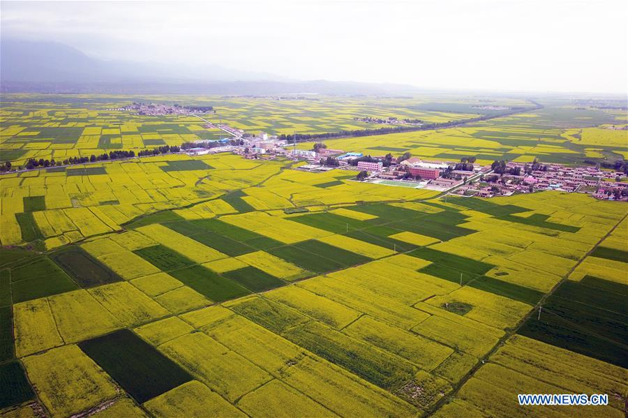 CHINA-SUMMER SCENERY-AERIAL VIEW (CN)