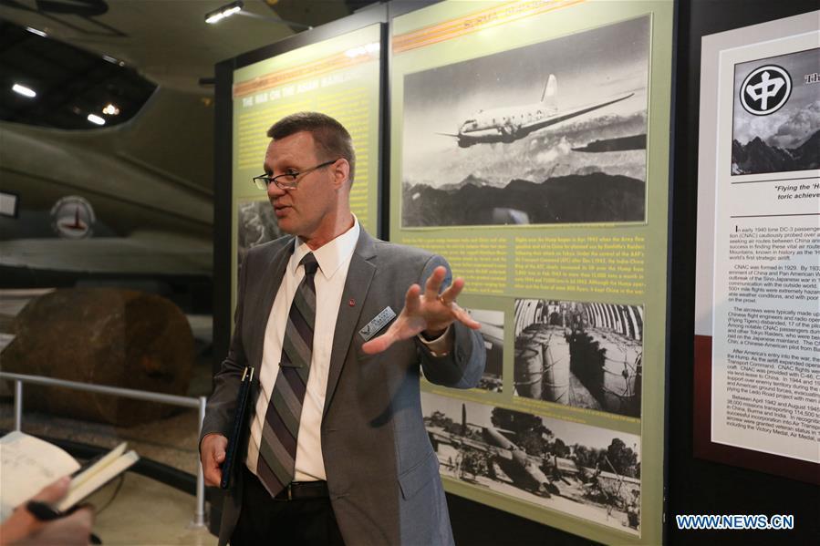 U.S.-OHIO-DAYTON-USAF MUSEUM-CHINA-WWII COOPERATION