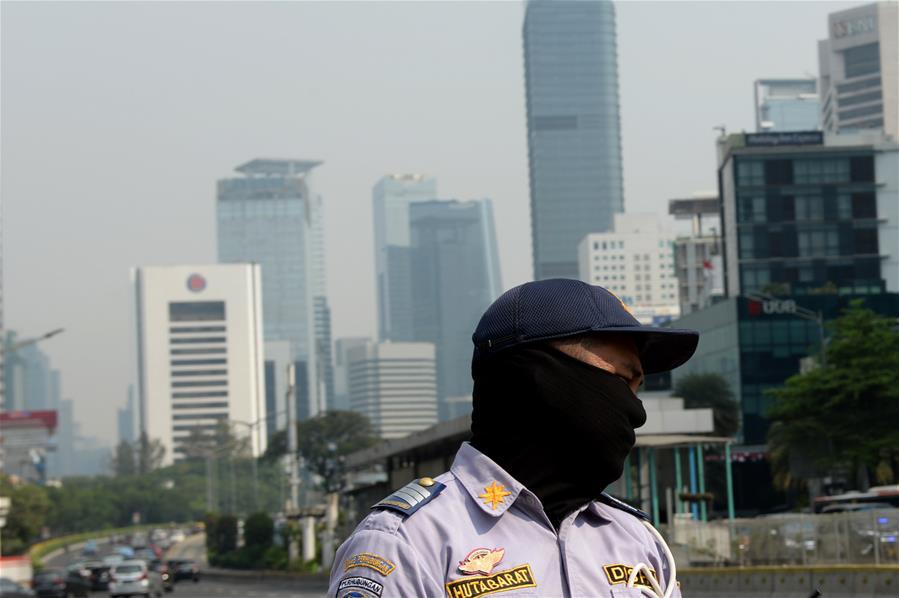 印度尼西亚 - 雅加达 - 空气污染