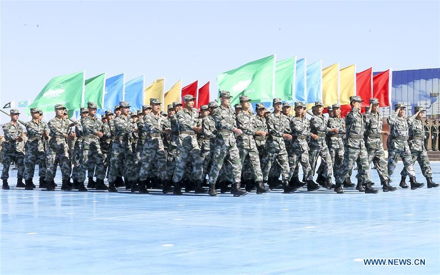 CHINA-XINJIANG-KORLA-INT'L ARMY GAMES-OPEN (CN)